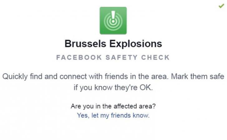 Decizia luată de Facebook, după exploziile de la Bruxelles. Cum îi ajută pe utilizatori