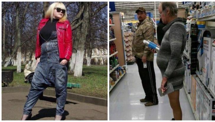 Când moda o ia razna. 11 oameni care au ieșit din casă fără să se uite în oglindă