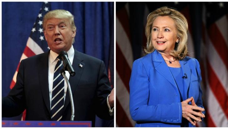 ALEGERI SUA. Trump și Clinton obțin victorii importante într-o zi electorală decisivă