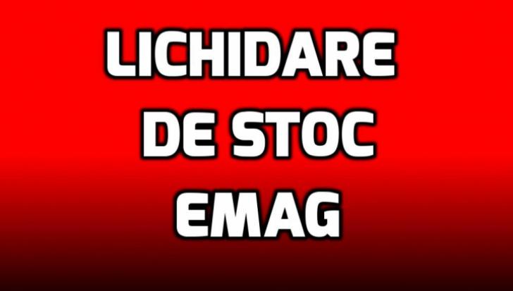 Lichidări de stoc la eMAG – 10 produse care merită toți banii