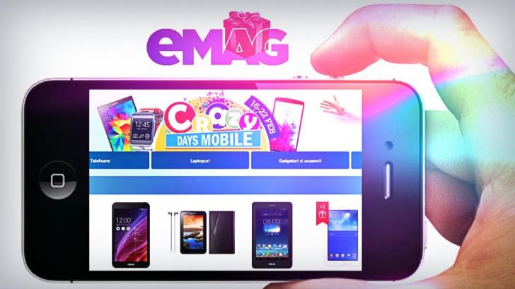 eMAG – Mobile Days – Sunt ultimele ore de reduceri la telefoanele mobile