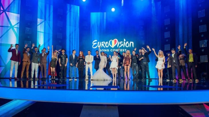 EUROVISION 2016. Ordinea intrării în finala Eurovision România