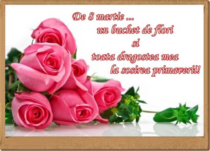Ziua Femeii. Felicitări de 8 martie. Cele mai frumoase felicitări şi mesaje pentru Ziua Femeii