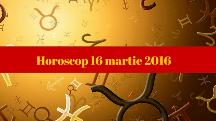 Horoscop 16 martie 2016. Vezi ce îţi rezervă astrele!