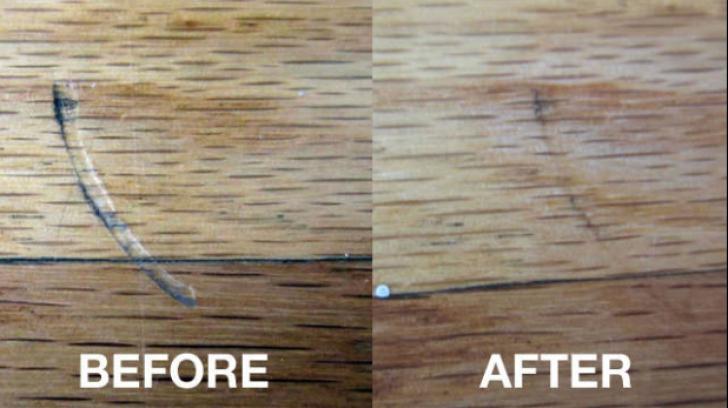 Scapă rapid de zgârieturile de pe mobila de lemn cu un singur ingredient. E atât de simplu!