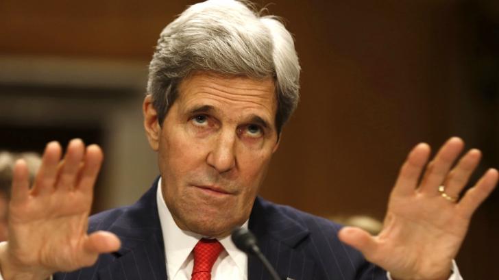 Siria. John Kerry, despre memorandumul colegilor săi răzvrătiți față de Obama: Mă voi întâlni cu ei!