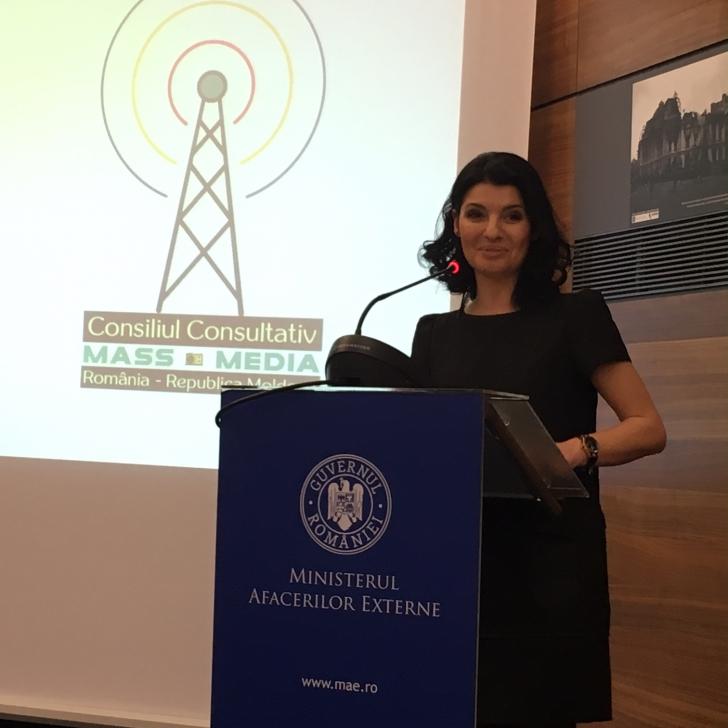 Lavinia Şandru, în Consiliul Media România - Republica Moldova