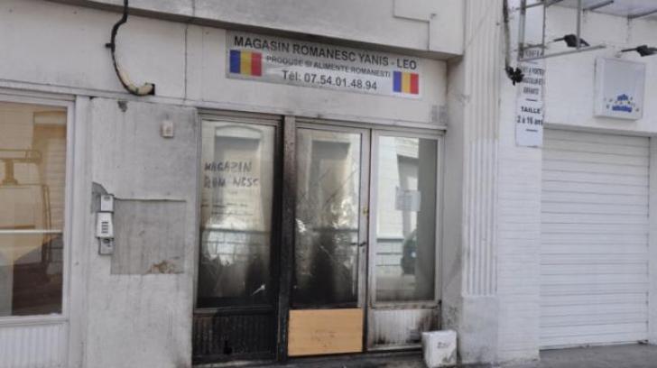 Caz revoltător în Franţa. Un magazin al unui român, incendiat de 2 poliţişti, din motive rasiale