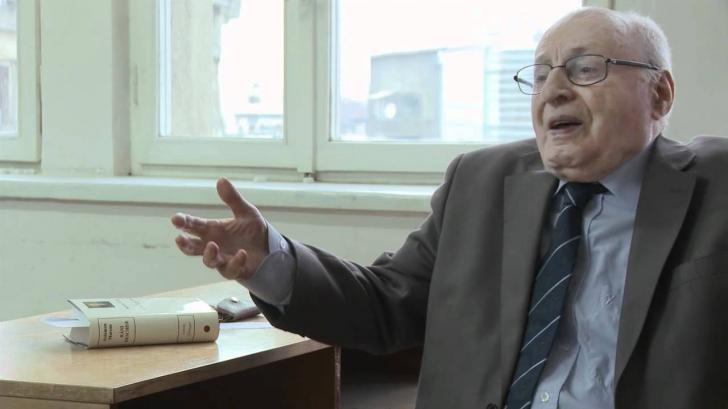 Solomon Marcus, matematician și membru al Academiei Române, a murit azi