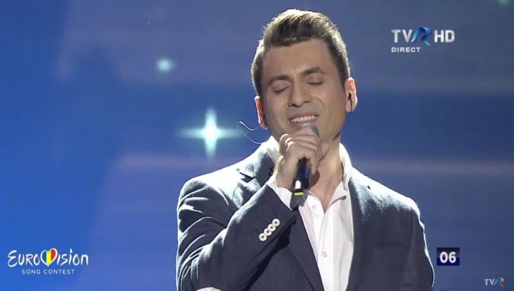 """EUROVISION 2016. Un fost concurent de la """"Vocea României"""" a primit 0 puncte"""