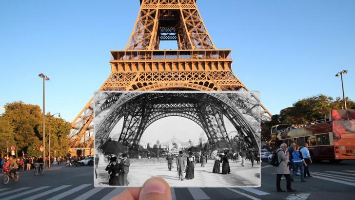 Parisul de odinioară, readus la viață! Fotografiile care te poartă înapoi în timp