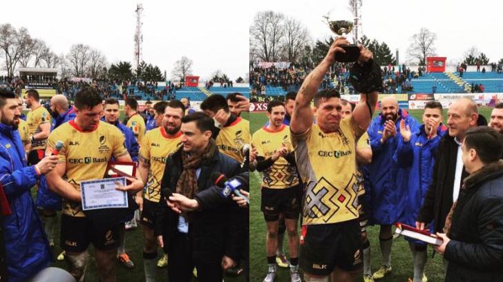 Victorie răsunătoarea la rugby. Echipa României a învins Germania