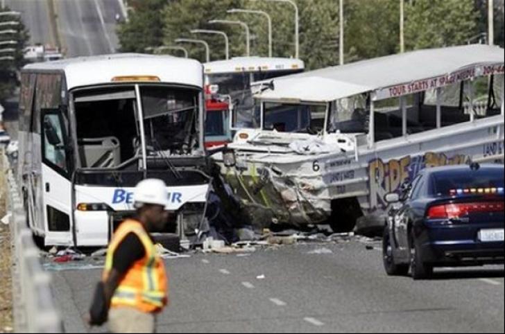Accident de circulație extrem de grav la graniță. Bilanțul este dur: 14 morți și 36 de răniți