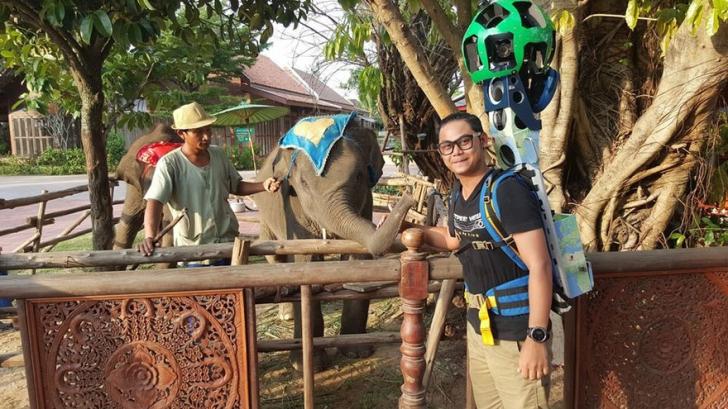 A mers 500 de km pe jos pentru a imortaliza frumusețea Thailandei.Locurile unde a ajuns, incredibile
