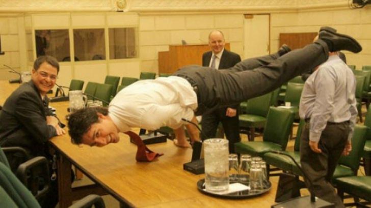 Fotografie uluitoare cu premierul Canadei, Justin Trudeau