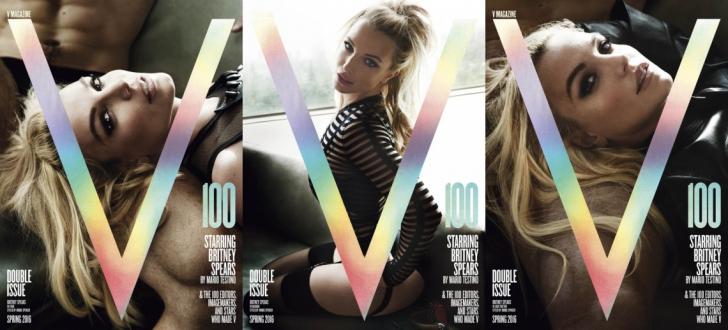 Britney Spears a slăbit şi mai mult. Cântăreaţa, de nerecunoscut pe coperta unei reviste- FOTO