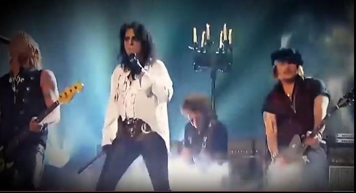 Alice Cooper, Joe Perry și Johnny Depp vor concerta la București