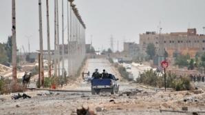 Forțele siriene au intrat în orașul Al-Qaryatain controlat de Stat Islamic, lângă Palmira