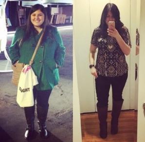 Această femeie slăbit 38 de kilograme fără diete, printr-o metodă foarte simplă