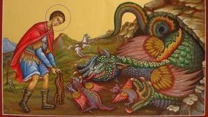 Creştinii îl sărbătoresc astăzi pe Sfântul Gheorghe