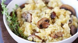 Reţetă de post: Orez cu ciuperci. Ingredientul care face diferenţa