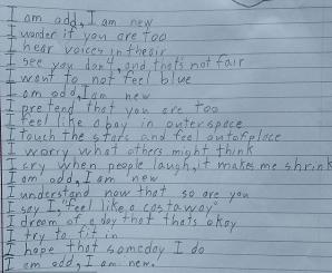 Diagnosticat Cu Sindromul Asperger O Tulburare Care Face Parte Din Spectrul Autismului A Impresionat Ntreaga Lume Poezie Pe Scris