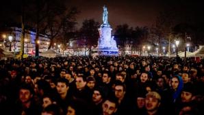 Proteste în Franța: Sute de persoane au ocupat Piața Republicii din Paris
