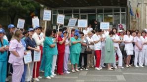 Proteste medici - Minsterul Sanatatii