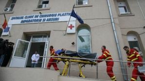 Anchetă la Spitalul de Arşi. Corpul de control al primului ministru ridică documente