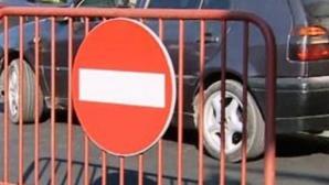 Trafic restricționat duminică în Bucureşti. Rute alternative recomandate de polițiști