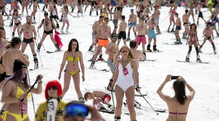 Schi în bikini, Sochi