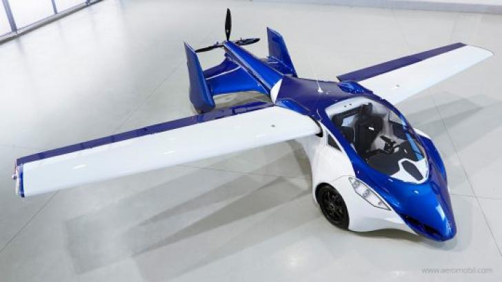 Maşina zburătoare Aeromobil 3.0 va fi lansată pe piaţă!