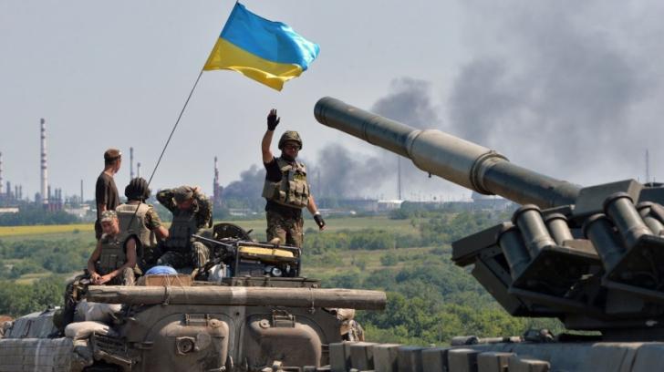 Armata ucraineană și rebelii proruși au convenit un armistițiu pe durata Sărbătorilor Pascale