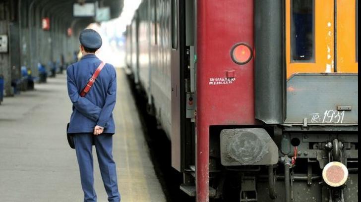 Șef de tren, cercetat penal după ce a mers băut la serviciu
