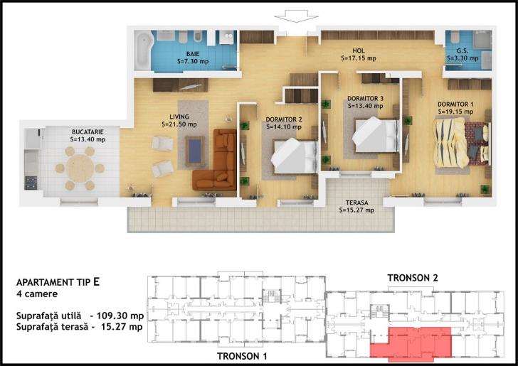 Apartamente Global City Residence