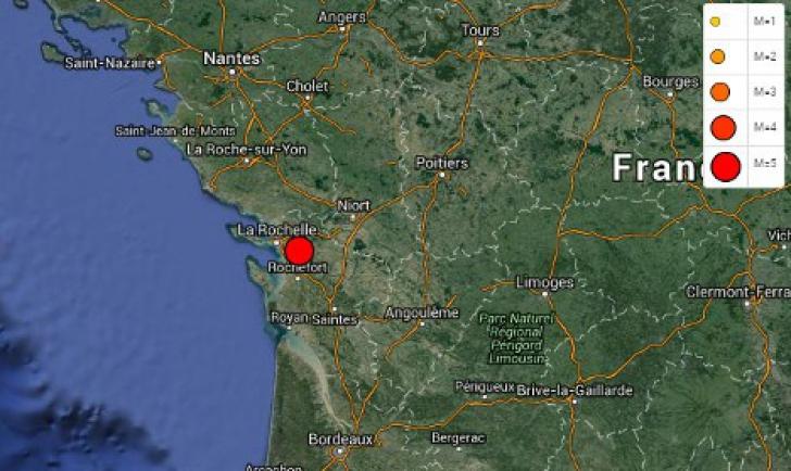 Cutremur major, cu magnitudinea de 5,2 grade, în sud-vestul Franţei