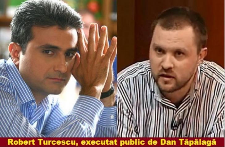Robert Turcescu, candidatul lui Băsescu, executat public de Tăpălagă, omul Monicăi Macovei