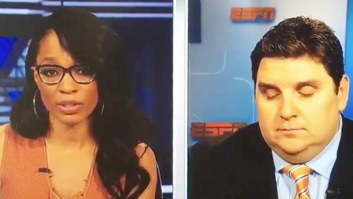 Moment jenant! Un reporter sportiv a adormit în timp ce se afla în direct la TV