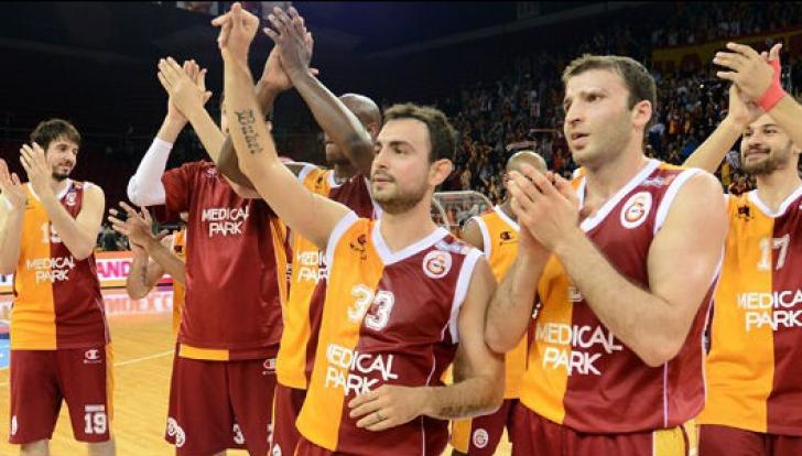 Baschet masculin: Galatasaray a câștigat Eurocup