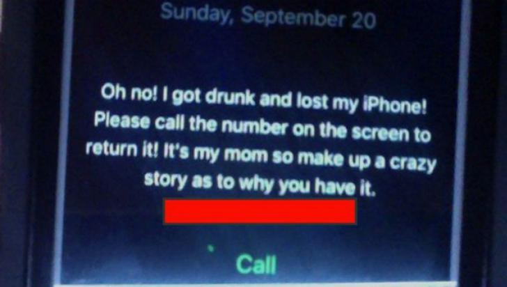 A găsit un telefon, apoi a vrut să-l deblocheze. Ce mesaj i-a apărut de ecran