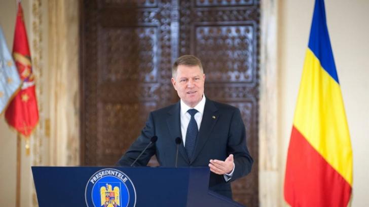 12.00: Președintele Iohannis, declarație de presă