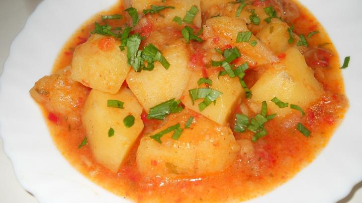 <p>Reţete de post. Cea mai bună mâncărică de cartofi. Ingredientul secret care o face foarte gustoasă</p>