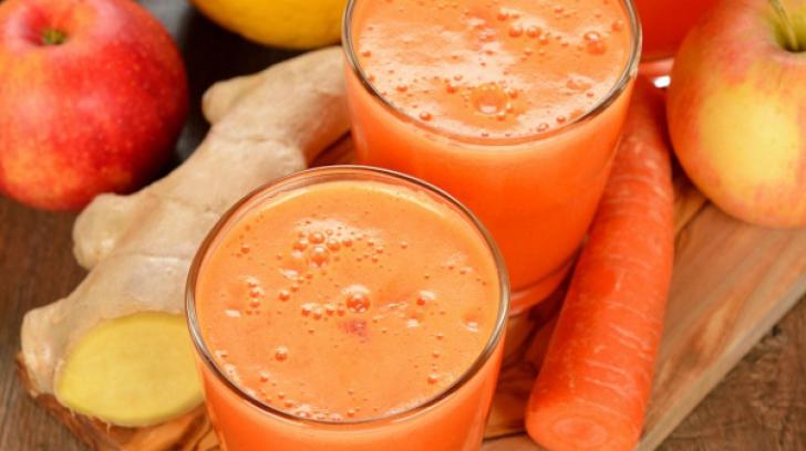 Băutura-medicament. Ai nevoie de un măr, un morcov şi un cartof. Efectele sunt miraculoase