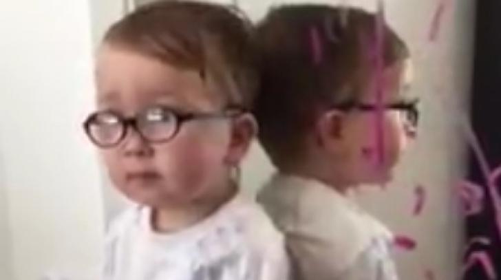Viral pe Internet: explicaţia născocită de acest copil pentru boacăna făcută
