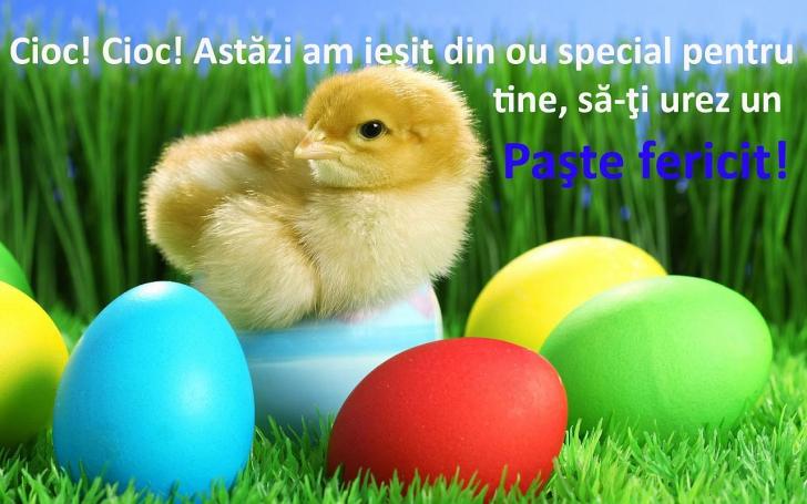 Felicitări online de Paște. Impresionează-i pe cei dragi cu aceste mesaje!