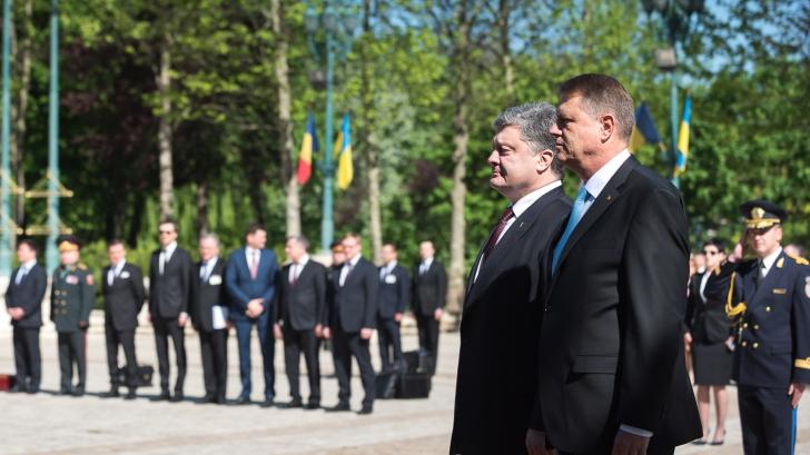 Iohannis, la întrevederea cu Porosenko: România sprijină Ucraina în procesul de reforme interne