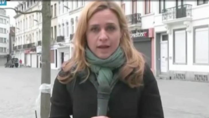 Un reporter şi cameramanul său, atacaţi în timpul unei transmisiuni în direct din Bruxelles