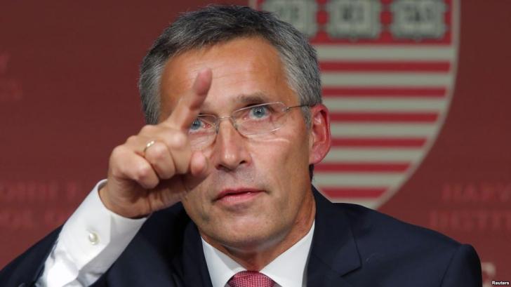 Şeful NATO avertizează: Rusia încearcă să îşi refacă sfera de influenţă în jurul frontierelor