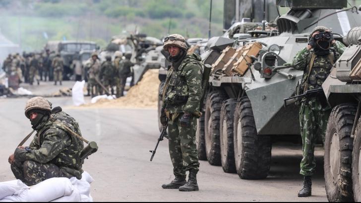 Explozie într-o cazarmă din Ucraina. Trei persoane au murit