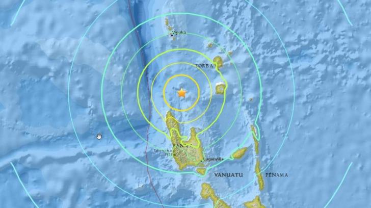 Un nou cutremur în arhipelagul Vanuatu: 7 grade pe scara Richter. Alertă de tsunami
